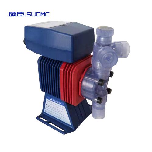 电磁隔膜计量泵,手自动调节流量,4-20MA信号控制
